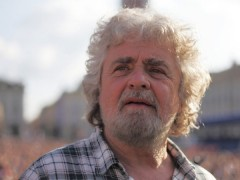 Grillo economia italiana in default